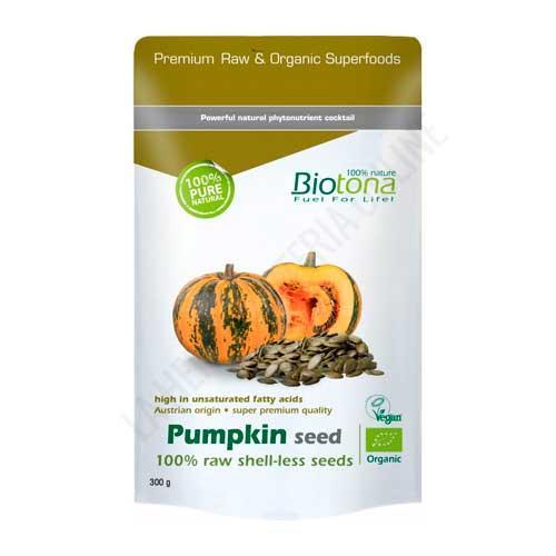 Pumpkin Seed Raw Semilla de Calabaza BIO Biotona 300 gr. -
