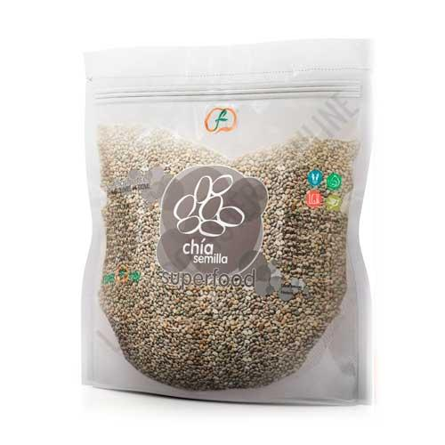 Semillas de Chía enteras Superfoods Energy Fruits 1 Kg.