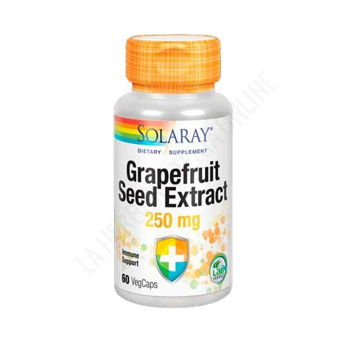 Grapefruit Seed Extract (extracto de semilla de pomelo) Solaray 60 cápsulas
