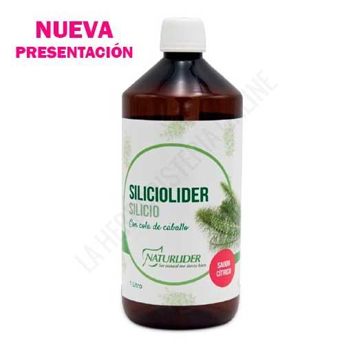 OFERTA DEL MES - Siliciolider Silicio Naturlider 1 litro - -34% DTO. OFERTA DEL MES. Siliciolider de Naturlider es una composición a base de Silicio en forma líquida de sabor agradable ideal para el cuidado de la piel, el cabello y las uñas.