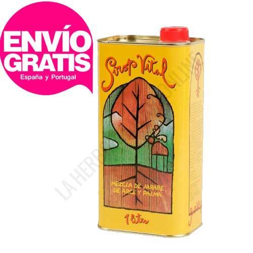 OFERTA Sirope de Savia de Arce grado C y Palma Sirop Vital 1 litro - El Sirope de Arce grado C y Palma Sirop Vital, fabricado en Suiza, es ideal para realizar la cura depurativa de cuerpo y mente del Método de Stanley Burroughs, basada en la mezcla de los jarabes de Arce y Palma con zumo de limón. PRODUCTO CON ENVÍO GRATIS A ESPAÑA Y PORTUGAL.