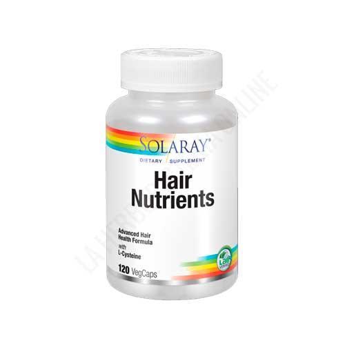 Hair Nutrients con L-Cisteína Solaray 120 cápsulas