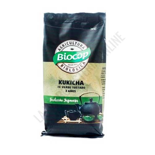 Kukicha té verde tostado de 3 Años Bio Biocop 75 gr. - El Té Kukicha BIO de 3 años Biocop es una bebida tonificante no excitante y con propiedades remineralizantes. Se puede tomar a cualquier hora del día, por cualquier persona y edad.