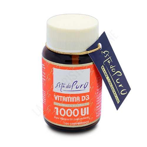 Vitamina D3 Colecalciferol 1000 Ui Estado Puro Tongil 100 comprimidos