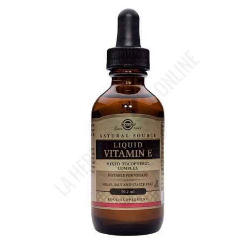 Vitamina E líquida Solgar 60 ml.