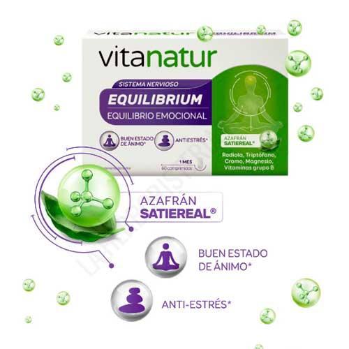Vitanatur Equilibrium Equilibrio Emocional Vitanatur 60 comprimidos