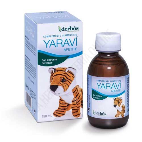 Yaravi Apetite jarabe infantil Derbos 150ml. -