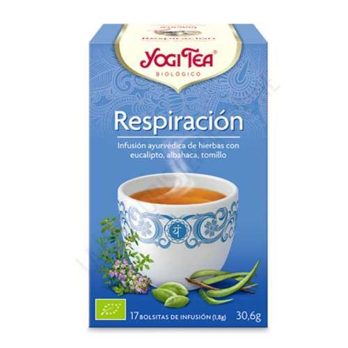 Infusión Respiración Yogi Tea 17 bolsitas