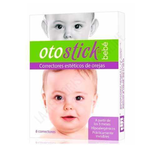 Otostick bebé corrector estético de orejas Reva Health 8 uds.