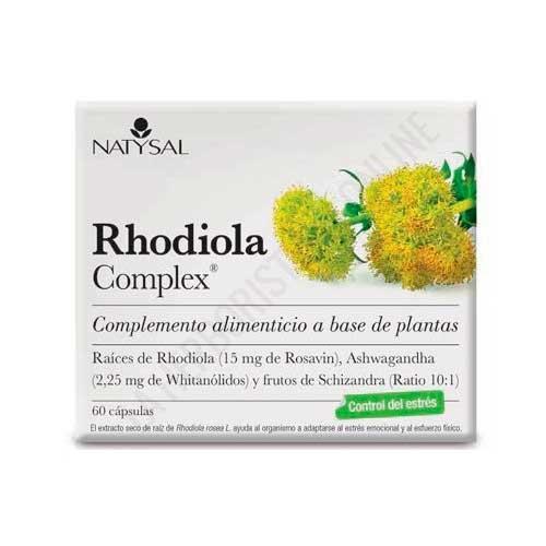 Rhodiola Complex Natysal 60 cápsulas
