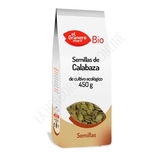 Semillas de Calabaza BIO El Granero Integral 450 gr. -