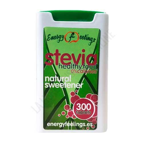NUEVO FORMATO - Edulcorante de Stevia Superfoods Energy Fruits 300 comprimidos - Stevia Gourmet es un edulcorante natural a base de Stevia Reb A que proporciona 0 calorías.