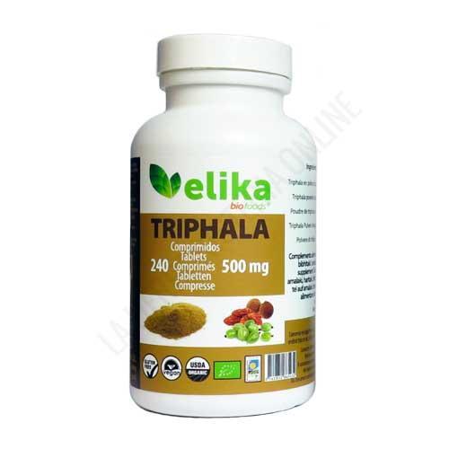 Triphala 500 mg. Elikafoods 240 comprimidos