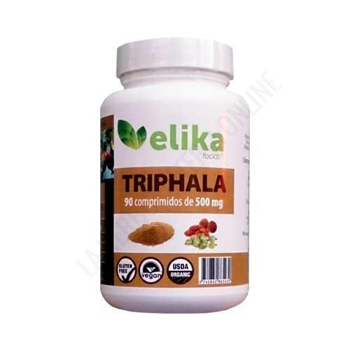 Triphala 500 mg. Elikafoods 90 comprimidos