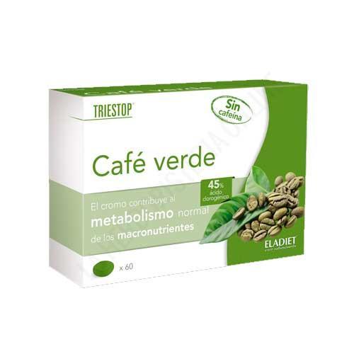 OFERTA Triestop Café Verde sin cafeína Eladiet 60 comprimidos
