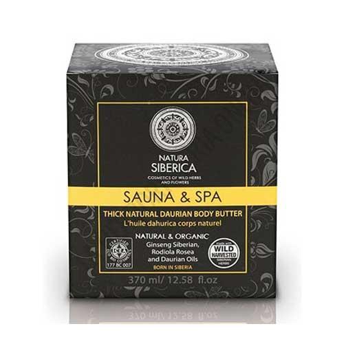 Aceite Diaurico corporal Sauna & Spa Natura Siberica 370 ml. -