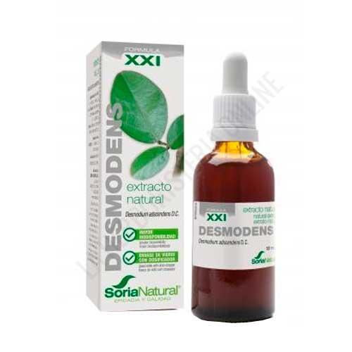 Extracto de Desmodens fórmula XXI Soria Natural 50 ml. con dosificador -