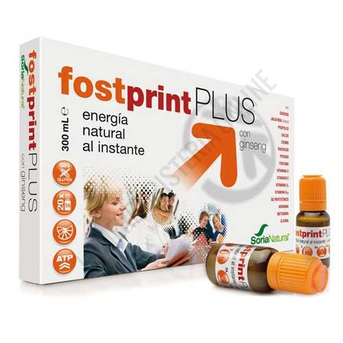 Fostprint Plus con ginseng Soria Natural 20 viales