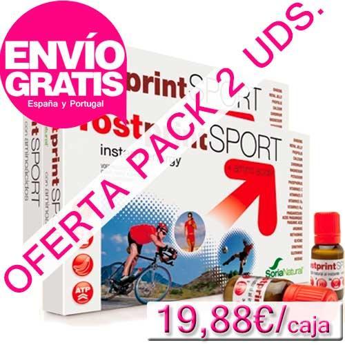OFERTA 2 uds. Fostprint Sport con aminoácidos Soria Natural 20 viales