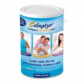 Colnatur sabor neutro bote 300 gr. - Colnatur es un regenerador natural a base de colágeno hidrolizado soluble muy asimilable para el cuidado de las articulaciones, que ayuda a reducir el dolor articular y la fragilidad ósea.