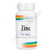 Zinc 50 mg. Solaray 60 cápsulas -