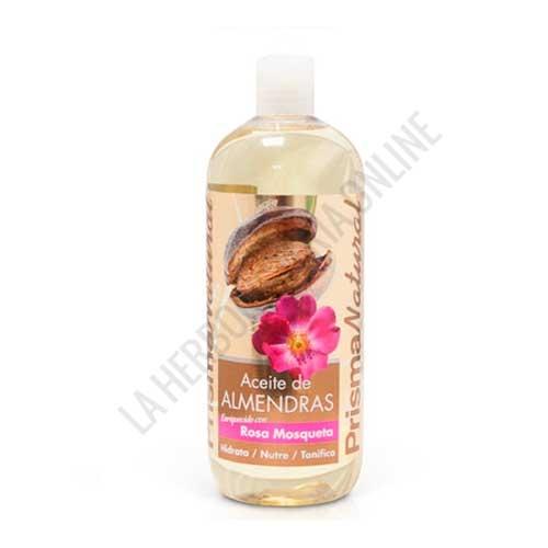Aceite de Almendras con Rosa Mosqueta Prisma Natural 1 litro -