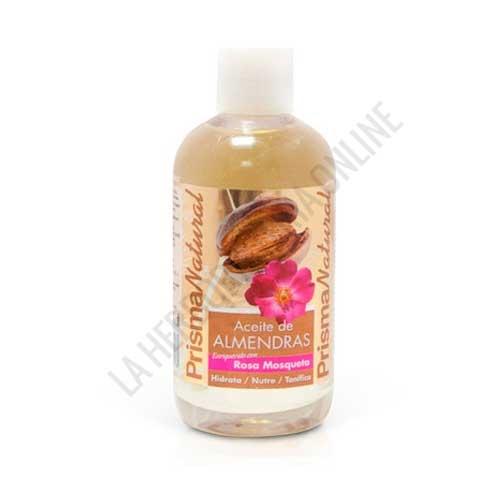 Aceite de Almendras con Rosa Mosqueta Prisma Natural 250 ml. -