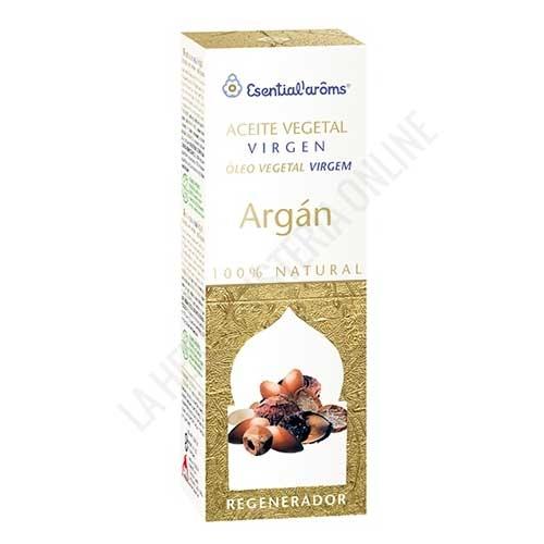 Aceite vegetal de Argán masaje corporal Esential Aroms Intersa 100 ml.