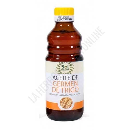 Aceite de Germen de Trigo 1ª presión Solnatural 250 ml. -