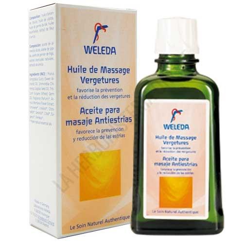 Aceite para masaje Antiestrías Weleda 100 ml. -