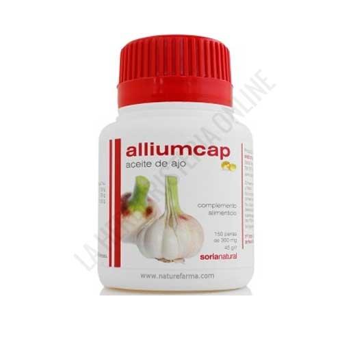 Aceite de ajo Alliumcap Soria Natural 150 perlas