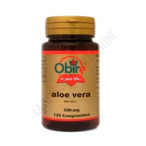 Aloe Vera 500 mg. Obire 120 comprimidos -