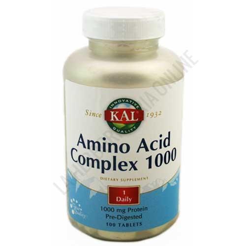 Amino Acid Complex 1000 Kal 100 comprimidos