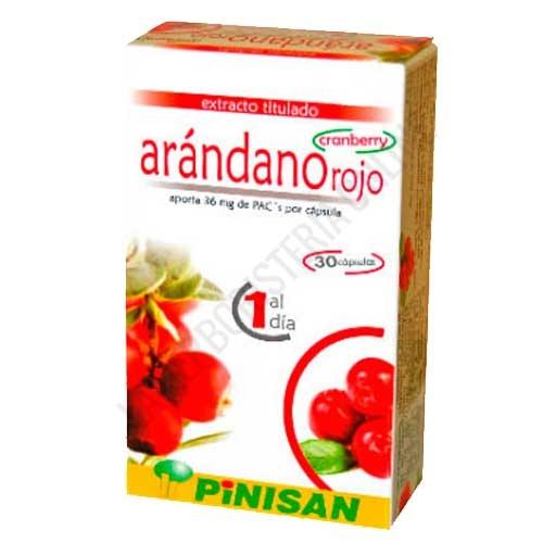 Arándano Rojo Pinisan 30 cápsulas -