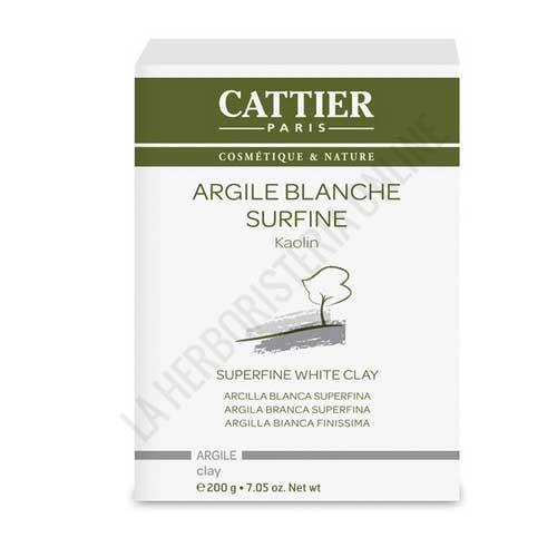 Arcilla blanca superfina Cattier 200 gr.