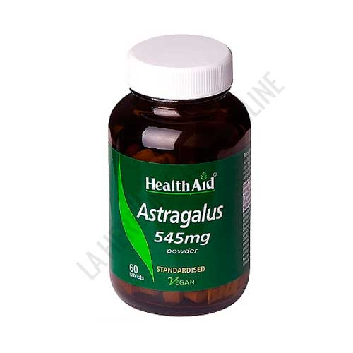 Astragalo raíz Estandarizado 545 mg. Health Aid 60 comprimidos