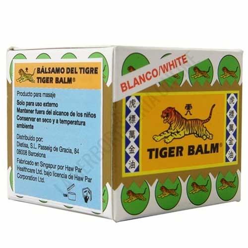 Bálsamo del Tigre Blanco Tiger Balm 19 gr. - Tiger Balm es el auténtico ungüento original de uso externo utilizado tradicionalmente para ayudar al alivio de los dolores musculares.