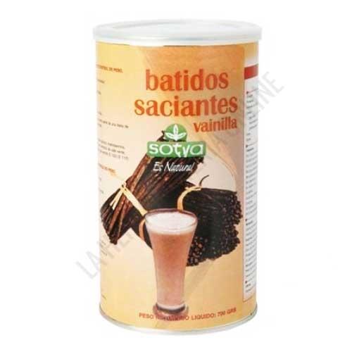 Batido Saciante sustitutivo sabor Vainilla Sotya 700 gr. - Los batidos Saciantes de Sotya son un formato ahorro de batidos sustitutivos de 1 comida, ideales para complementar dietas de control de peso. Envase para preparar 14 batidos.