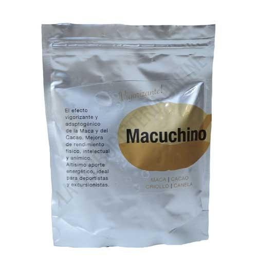 Batido Vigorizante Macuchino  Superfoods Energy Fruits 150 gr. - Macuchino Mix es un baido vigorizante y energizante a base de Maca, Cacao Criollo, Azúcar de Coco y Canela. Ideal para contribuir a la mejora del rendimiento físico, intelectual y anímico.