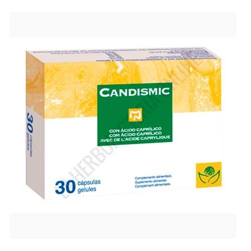 Candismic Plus cándidas y micosis Bioserum 30 cápsulas -