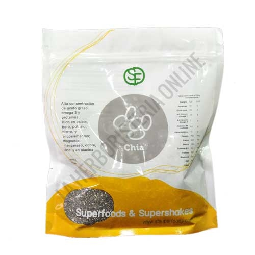 Semillas de Chía enteras Superfoods Energy Fruits 500 gr. -