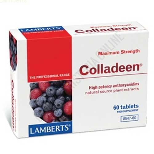 Colladeen máxima potencia antocianidinas Lamberts 60 comprimidos -