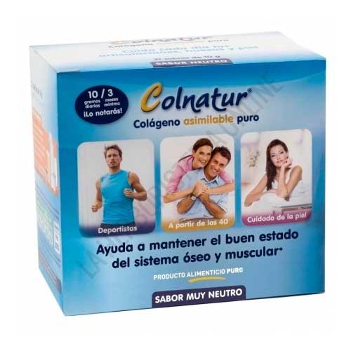 Colnatur Colageno Asimilable puro sabor muy neutro 21 sobres - Colnatur es un regenerador natural a base de colágeno hidrolizado soluble muy asimilable para el cuidado de las articulaciones, que ayuda a reducir el dolor articular y la fragilidad ósea.
