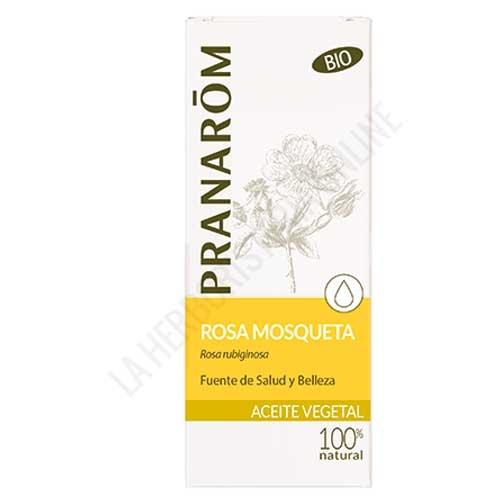 Aceite vegetal de Rosa Mosqueta BIO Pranarom 50 ml. -