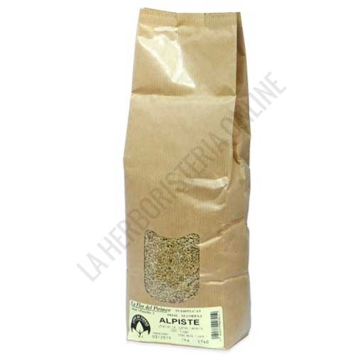 Alpiste semilla La Flor del Pirineo 1 Kg. - Alpiste La Flor del Pirineo en paquete de 1 Kg. Semilla de Alpiste libre de fibras de Sílice, apto para el consumo humano.