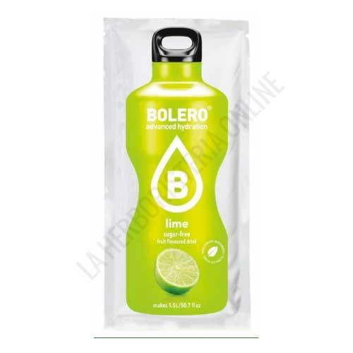 Bebida refrescante sin azúcar baja en calorías Bolero sabor Lima 9 gr. (equivale a 1,5 l.)
