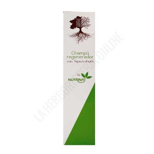 Champú Regenerador con Tepezcohuite Nutrinat 250 ml. -