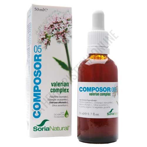 Composor 5 Sedaner Complex XXI Soria Natural 50 ml.
