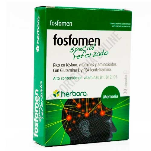 OFERTA Fosfomen Especial Reforzado Herbora 30 cápsulas