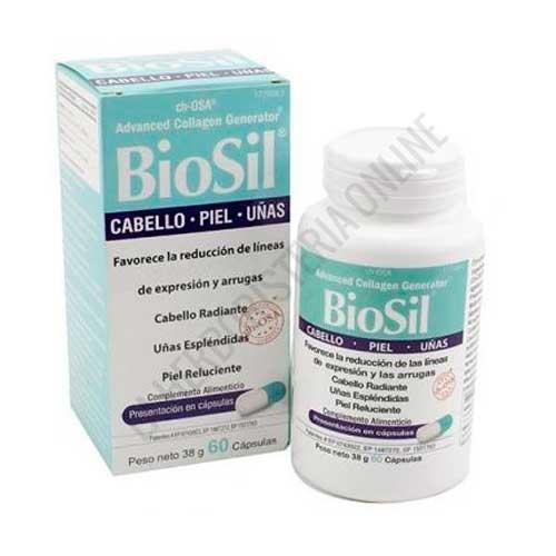 BioSil ch-OSA generador de Colágeno fórmula original 60 cápsulas -